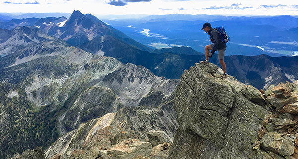 Once in a blue moon: scaling B.C.'s Fisher Peak