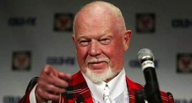 Don Cherry is long past his due date