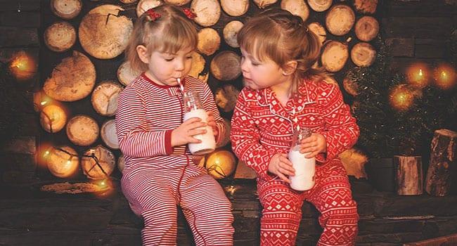 Teaching kids gratitude at Christmas