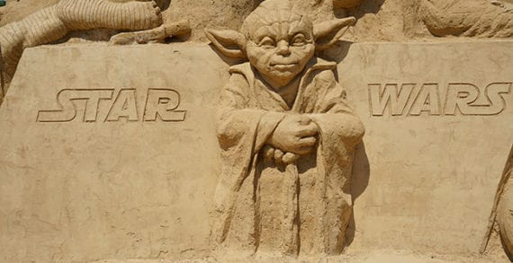 """""""Do. Or do not. There is no try."""" The wisdom of Star Wars"""