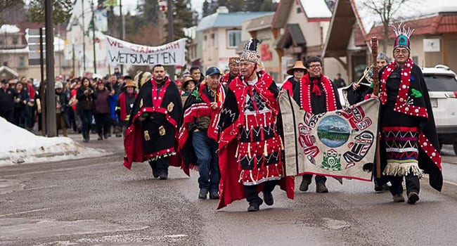 Wet'suwet'en protests throw us all into chaos