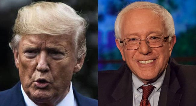 Are Trump and Sanders two sides of the same coin?