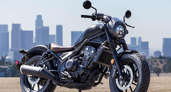 Rebel motorcycle model, car
