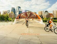 ConnecTour Chronicles: Calgary bike trails a bridge between city and nature
