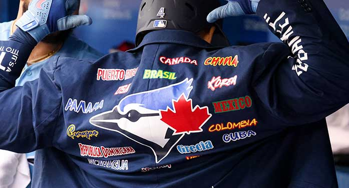 The Toronto Blue Jays truly are Canada's team